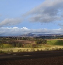 View to Angus Glens