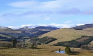 View to Glenshee