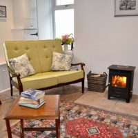 Caliburn's cozy woodburner
